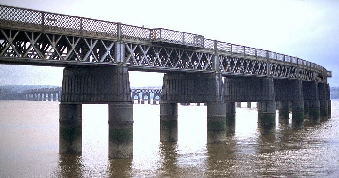 Dundee Firth of Tay: Tay Rail Bridge