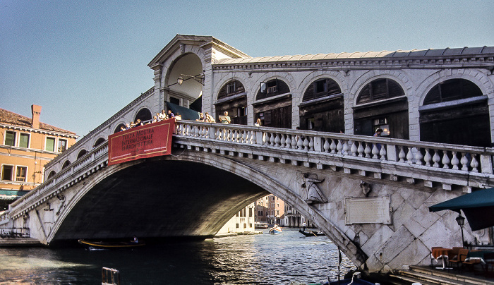 Venedig Canal Grande: Ponte di Rialto