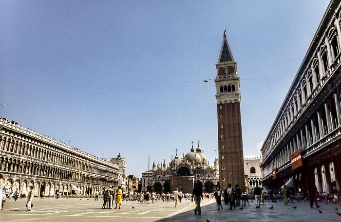 Rund um den Markusplatz Venedig