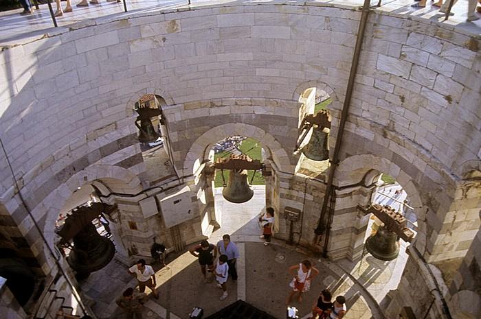 Pisa Piazza dei Miracoli (Platz der Wunder): Schiefer Turm (Campanile)