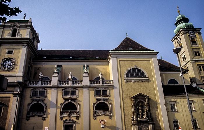 Innere Stadt: Freyung - Schottenkirche Wien 1985