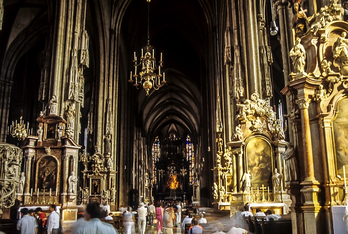 Stephansdom (Domkirche St. Stephan zu Wien) Wien 1985