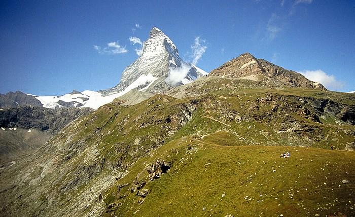Walliser Alpen Matterhorn