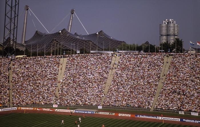 Olympiastadion: FC Bayern München - 1. FC Nürnberg München 1985