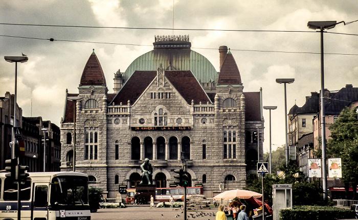 Kluuvi: Finnisches Nationaltheater (Suomen Kansallisteatteri) Helsinki 1986