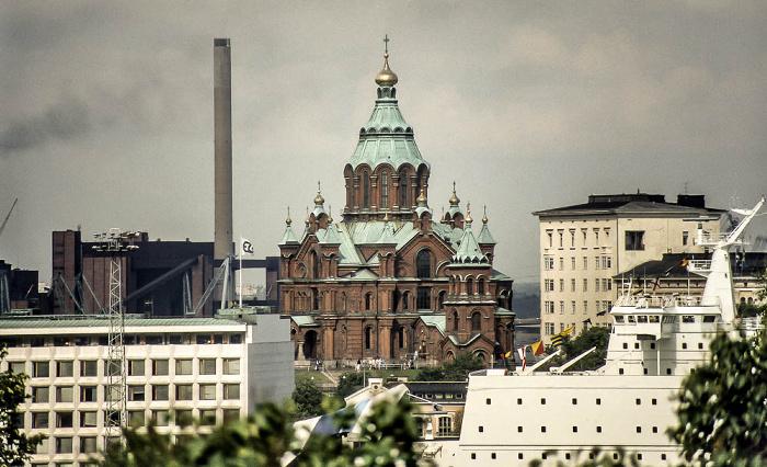 Katajanokka: Uspenski-Kathedrale (Uspenskin katedraali) Helsinki 1986