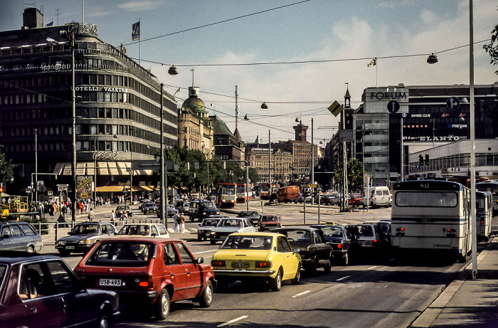 Mannerheimintie Helsinki 1986