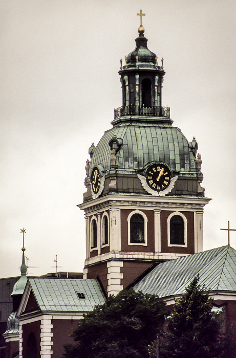 Norrmalm: Jakobskirche (Sankt Jacobs kyrka) Stockholm 1986