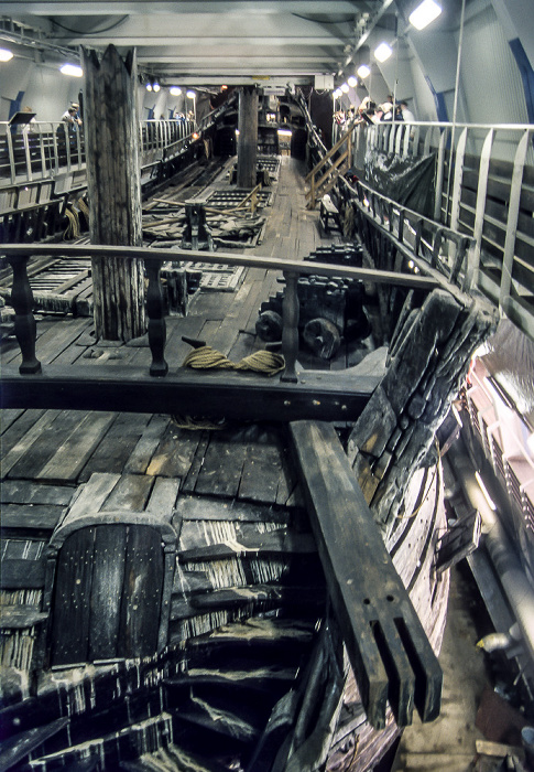 Wasavarvet (Vasa-Werft): Wasa (Vasa) Stockholm 1986