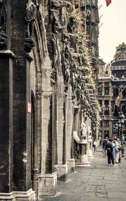 Brüssel Grand Place: Rathaus