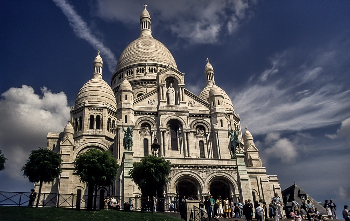 Montmartre: Basilique du Sacré-Coeur Paris 1986