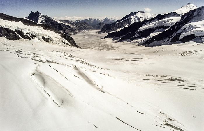 Jungfraujoch Großer Aletschgletscher