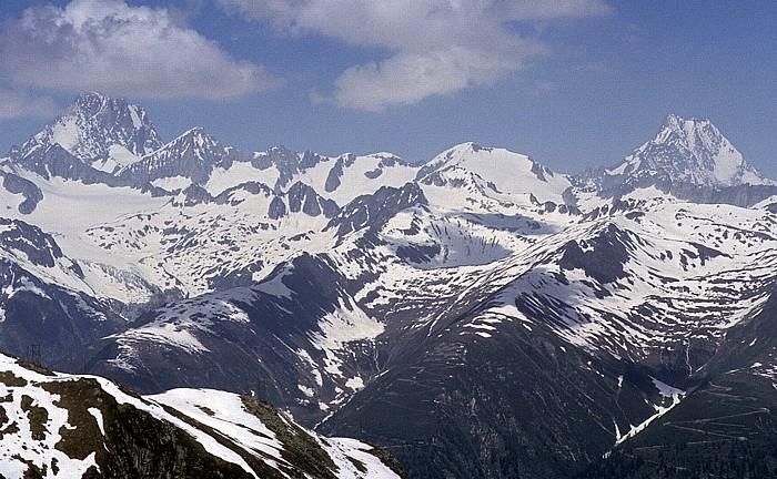 Nufenenpass Urner Alpen