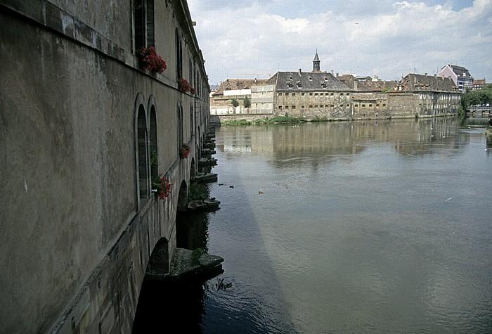 Straßburg Quartier de la Gare: Barrage Vauban, Ill