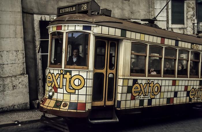 Eléctrico 28 Lissabon 1988