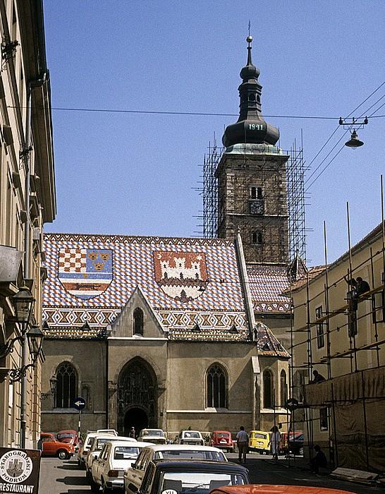Zagreb St.-Markus-Kirche Markuskirche