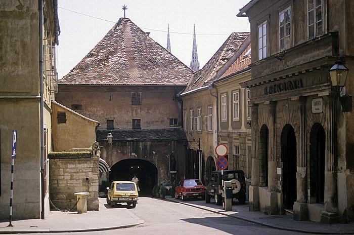 Zagreb Steinernes Tor (Kamenita vrata)