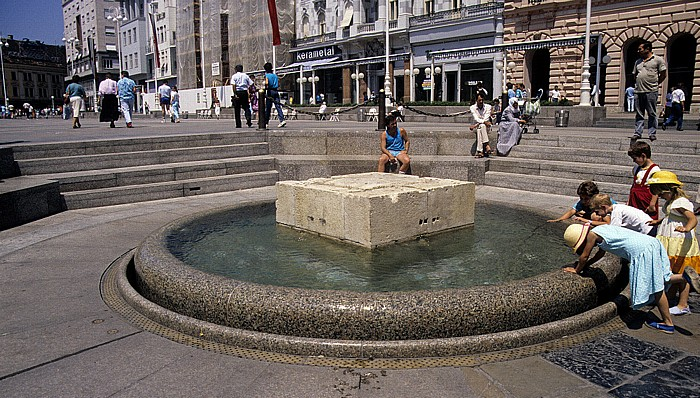 Zagreb Ban-Jelacic-Platz