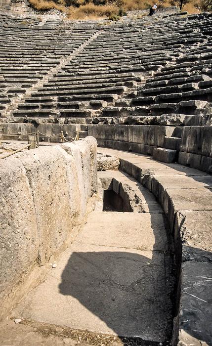 Heiliger Bezirk von Delphi: Theater