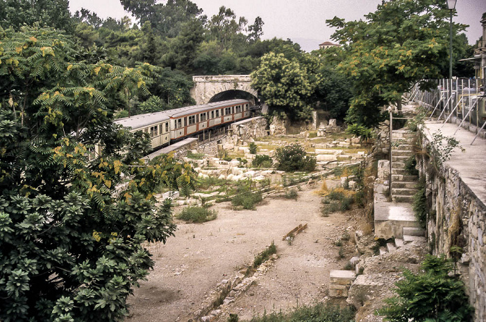 U-Bahn Piräus - Kifissia, Antike Agora von Athen Athen 1988