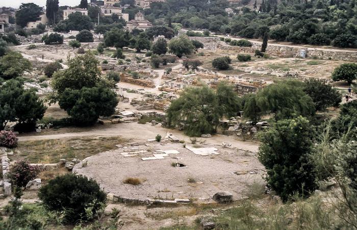 Antike Agora von Athen: Prytaneion