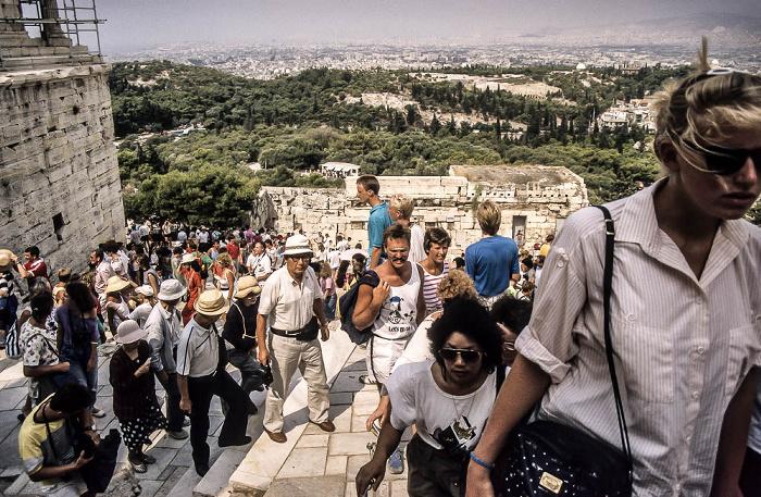 Akropolis Athen 1988