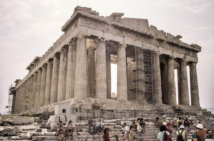 Akropolis: Parthenon Athen 1988