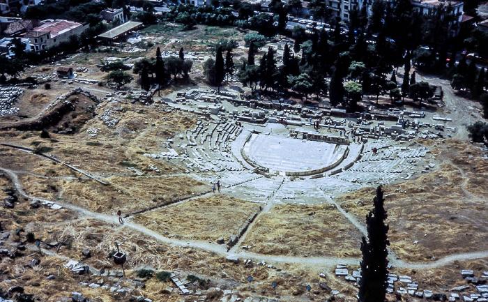 Akropolis: Dionysostheater Athen 1988