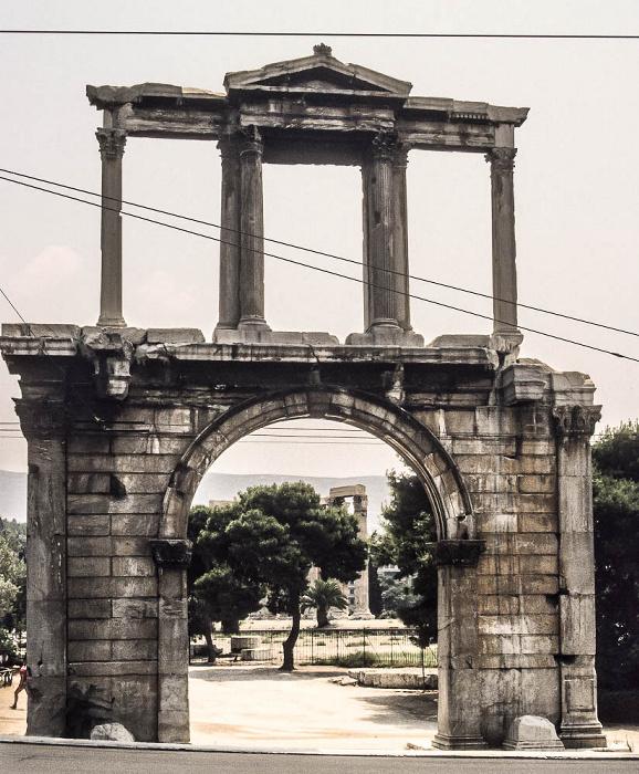 Athen Hadrianstor Olympieion
