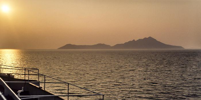 Ionisches Meer Insel