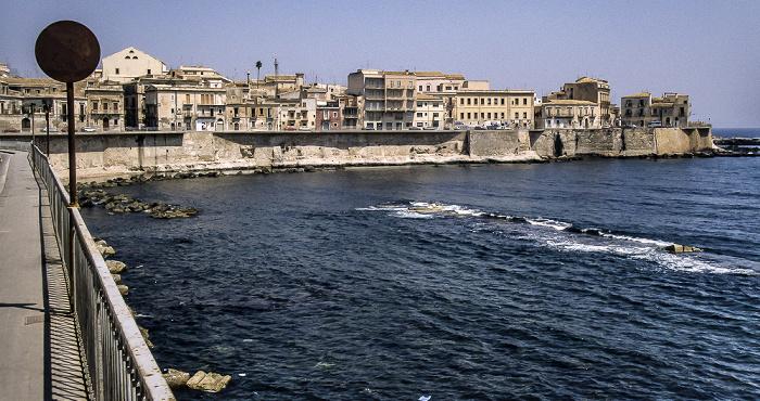 Syrakus Altstadt auf der Halbinsel