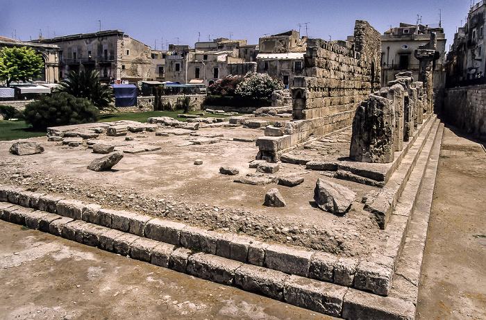Syrakus Apollon-Tempel