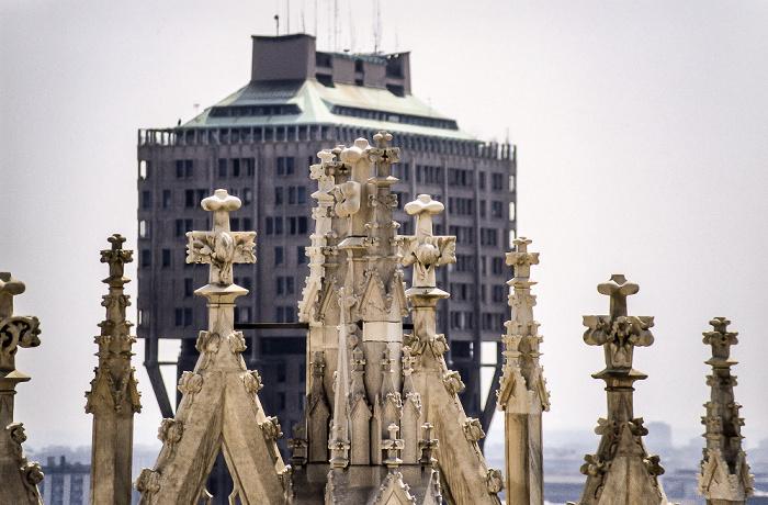 Mailand Blick vom Dom: Torre Velasca