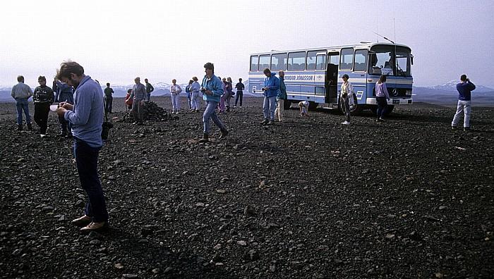 Bus der Sprengisandur-Route