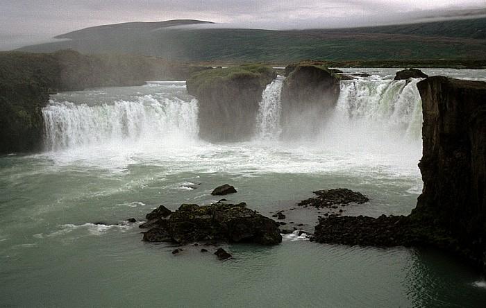 Bardardalur Godafoss: Wasserfall des Flusses Skjálfandafljót