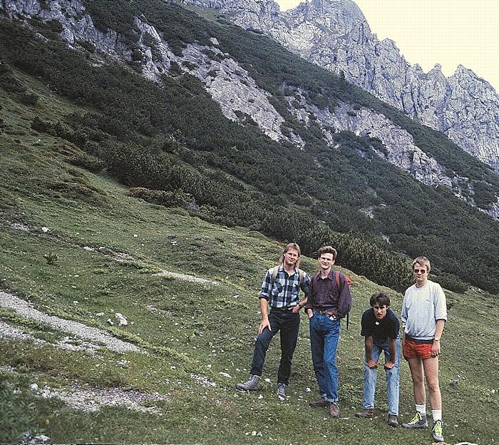 Drei Schwestern V.l.: Thomas, Dietmar, Michael, Jürgen