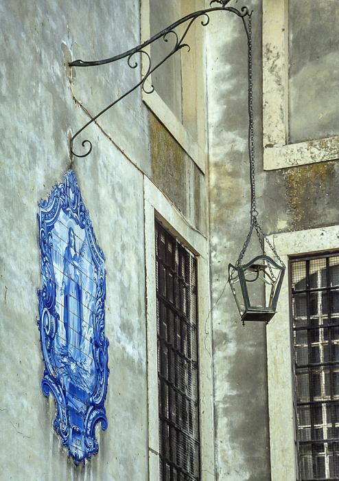 Alfama: Largo Santa Luzia - Azulejo Lissabon 1990