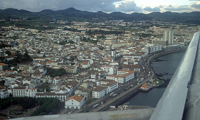 São Miguel Ponta Delgada Luftbild aerial photo