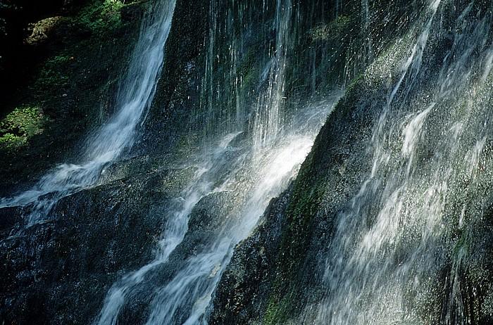 Beatushöhlen Wasserfall