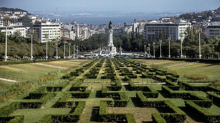 Parque Eduardo VII Lissabon 1992