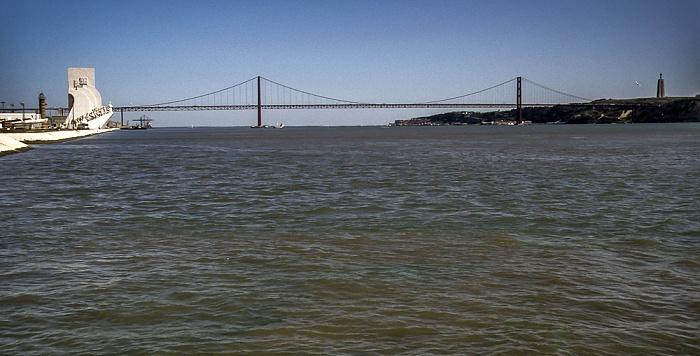 Belém: Padrão dos Descobrimentos, Tejo Lissabon 1992