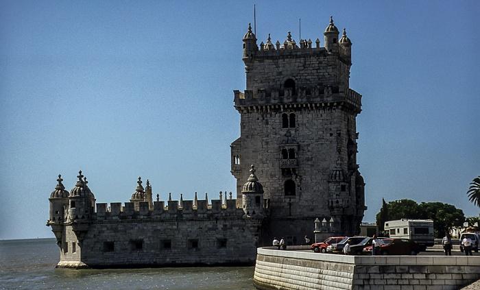 Belém: Torre de Belém, Tejo Lissabon 1992