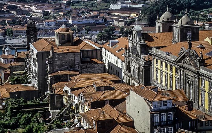 Blick vom Torre dos Clérigos: Centro Histórico  Porto 1992