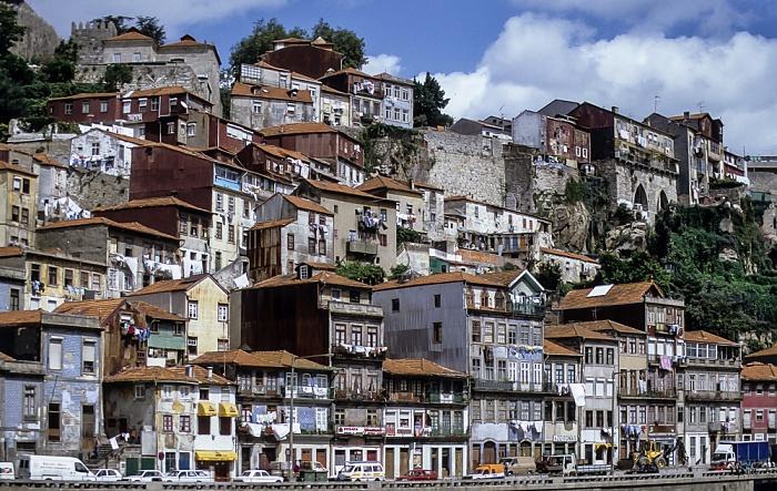 Blick von der Ponte de Dom Luis I Porto 1992