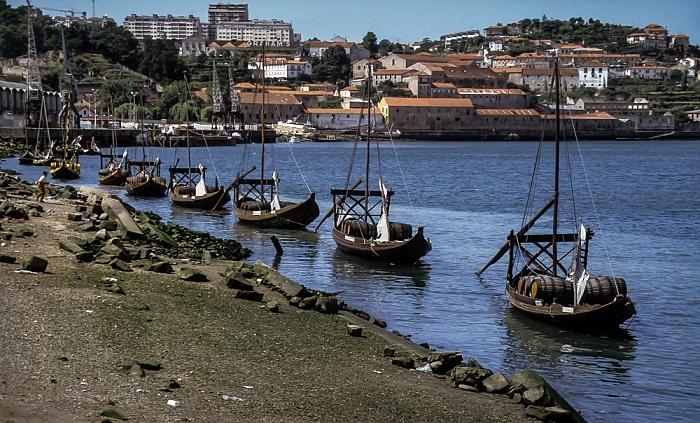 Cais dos Barcos Rabelos, Douro Porto 1992