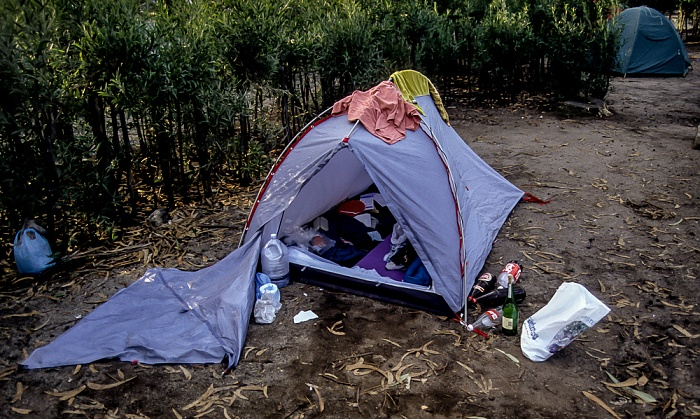 Campingplatz Porto 1992