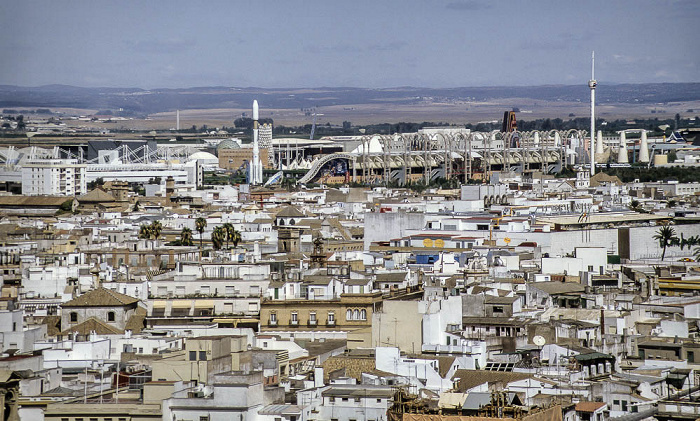 Sevilla Blick von der Giralda: EXPO '92