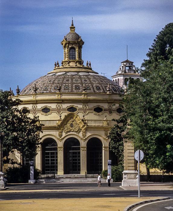 Distrito Casco Antiguo: Teatro Lope de Vega Sevilla 1992