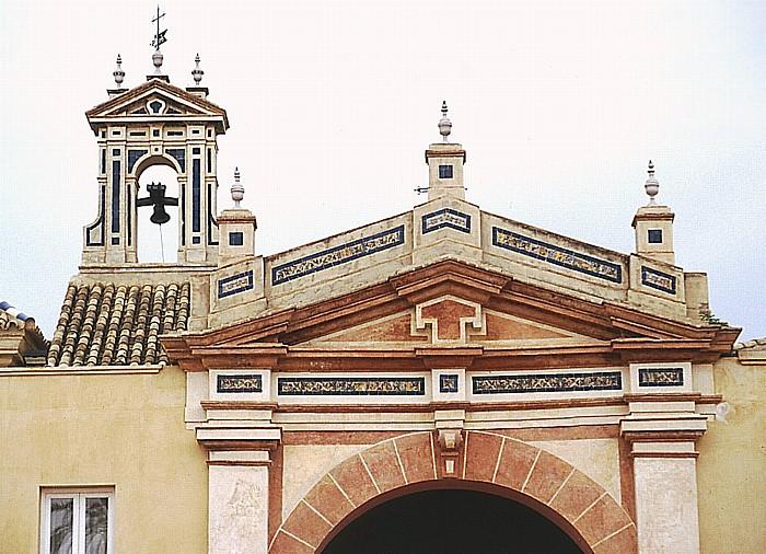 Sevilla Kartäuserkloster Monasterio de Santa María de las Cuevas: Haupteingang