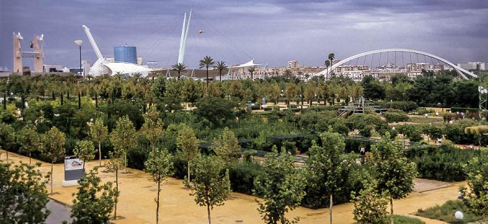 Sevilla EXPO '92: Parque Jardin del Guadalquivir Alamillo-Brücke Barqueta-Brücke Pavillon von Andalusien